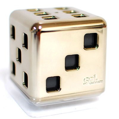 Carmate SAI Dice Brown Gold Remove Odor Car Air Freshener Fragrance (Part: FR903)