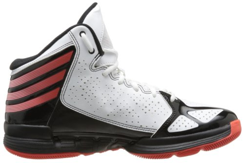adidas Mad Handle - Zapatillas de deporte para hombre Blanco - Blanc (White/Hi-Res Red/Black)