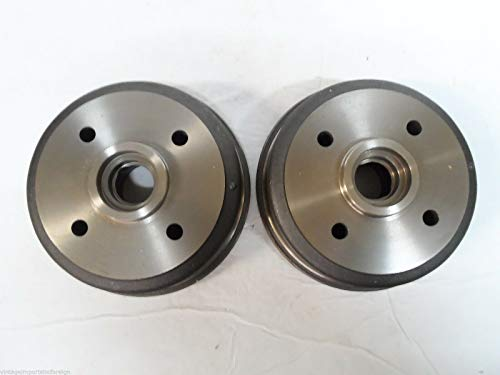 EPC Mitsubishi Precis Fits Dodge Colt & Plymouth Colt New Rear Brake Drums (Qty 2)