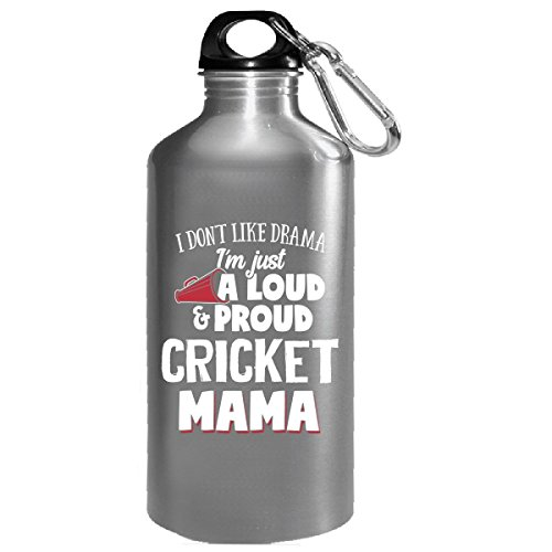 I'm Just A Loud And Proud Cricket Mama - Water Bottle by My Family Tee