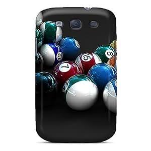 Excellent Design 3d Pool Phone Cases Galaxy S3 Premium Tpu Cases