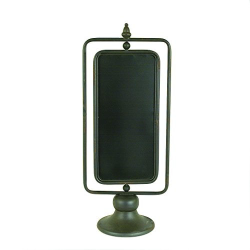 Creative Co-op DA3660 Metal 2 Sided Chalkboard on Stand (Stand Creative)
