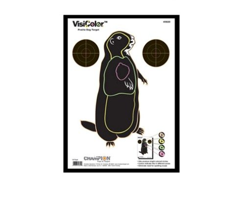 - Champion Traps and Targets, VisiShot Targets, Prairie Dog (10 Pack)