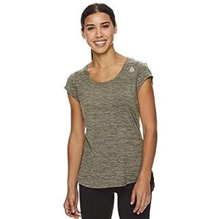 Reebok Women's Legend Running & Gym T-Shirt - Performance Short Sleeve Workout Clothes for Women