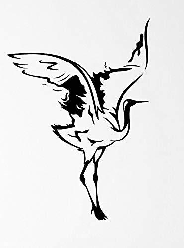 Amazon Com Heron Bird Feathers Flap Beak Wings Rise Transfer
