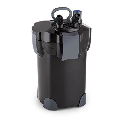 Waldbeck Clearflow 55UV Filtro Exterior Acuario con clarificador de 9W UVC - Motor 55 W, Filtro 4 Niveles, Caudal hasta 2000 l/h, Estanques hasta 2000 L, Bajo Consumo, Facil de Limpiar