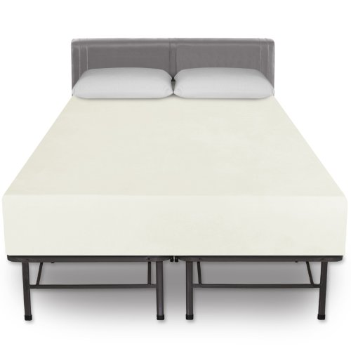 sleep-master-12-inch-pressure-relief-memory-foam-mattress-and-platform-metal-bed-frame-mattress-foun