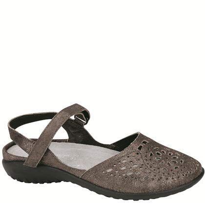 Naot Women's Arataki Dress Sandal, Gray Shimmer, 40 EU/9 M US]()