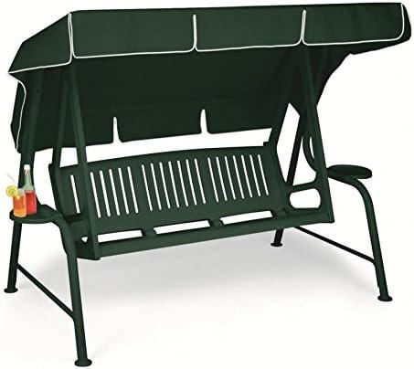 Mecedora, balancín de jardín 3 plazas, balancín Lord Scab, balancín de resina: Amazon.es: Hogar