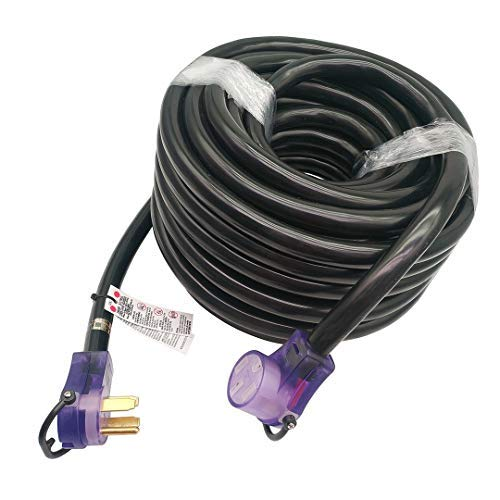 Parkworld 60110 RV 50amp Extension Cord 100FT NEMA 14-50, Plug and Receptacle with Lighted (100 Feet) by Parkworld (Image #5)