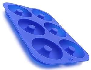 Keliwa Silicone Donut Baking Pan/Non-Stick Donut Mold/Dishwasher, Oven, Microwave, Freezer Safe