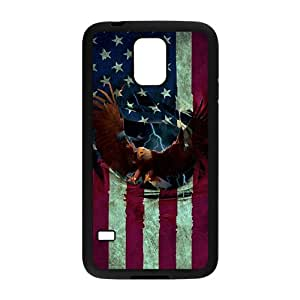 Happy Bald Eagle Cell Phone Case for Samsung Galaxy S5