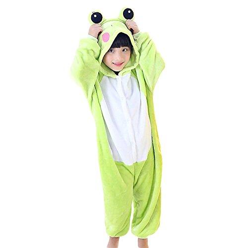 Vivi Cosplay Costume (Vivi Pray Kids Unisex Cosplay Pajamas Onesie Frog Costume)