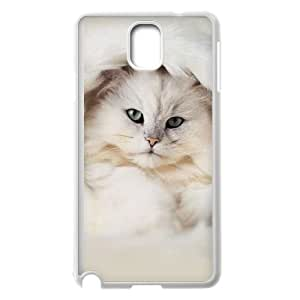 Samsung Galaxy Note 3 Cell Phone Case White_White Persian Cat Esaby