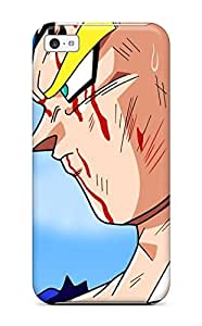 Quality AdrianMichelleCole Case Cover With Vegeta Majin Dragon Ball Kai Saiyans Anime Anime Boys Manga Dragon Ball Scene Super Saiyan Dragonball Nice Appearance Compatible With Iphone 5c