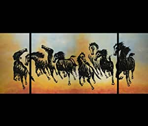 Horse Painting Feng Shui Art Abstract Art Paintings Modern Wall Art Paintings Canvas Art Prints