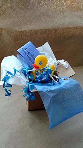 Hanukkah Greeting Card Gift Box SPEC-QUACK-ULAR Yellow Rubber Duck Present Package Ships Direct to Family Friends