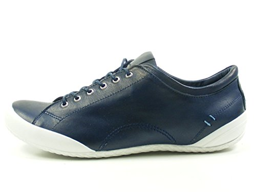 Andrea De Para Zapatos Mujer Cuero Azul Conti 0340559 wwx6qTSHC
