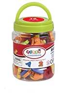 """First Classroom 1.2"""" Magnetic Letters and Numbers Playset (78-Piece)"""