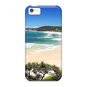 Johnmarkpl Fashion Protective Sunny Beach Case Cover For Iphone 5c