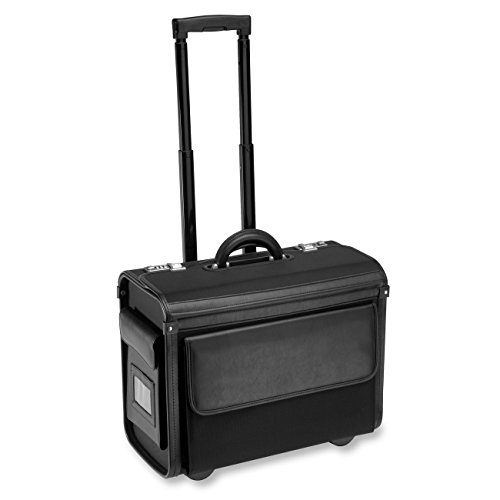 - ALL-STATE LEGAL Nylon Litigation Bag, Rolling Bag, Catalog Case, Briefcase, 18