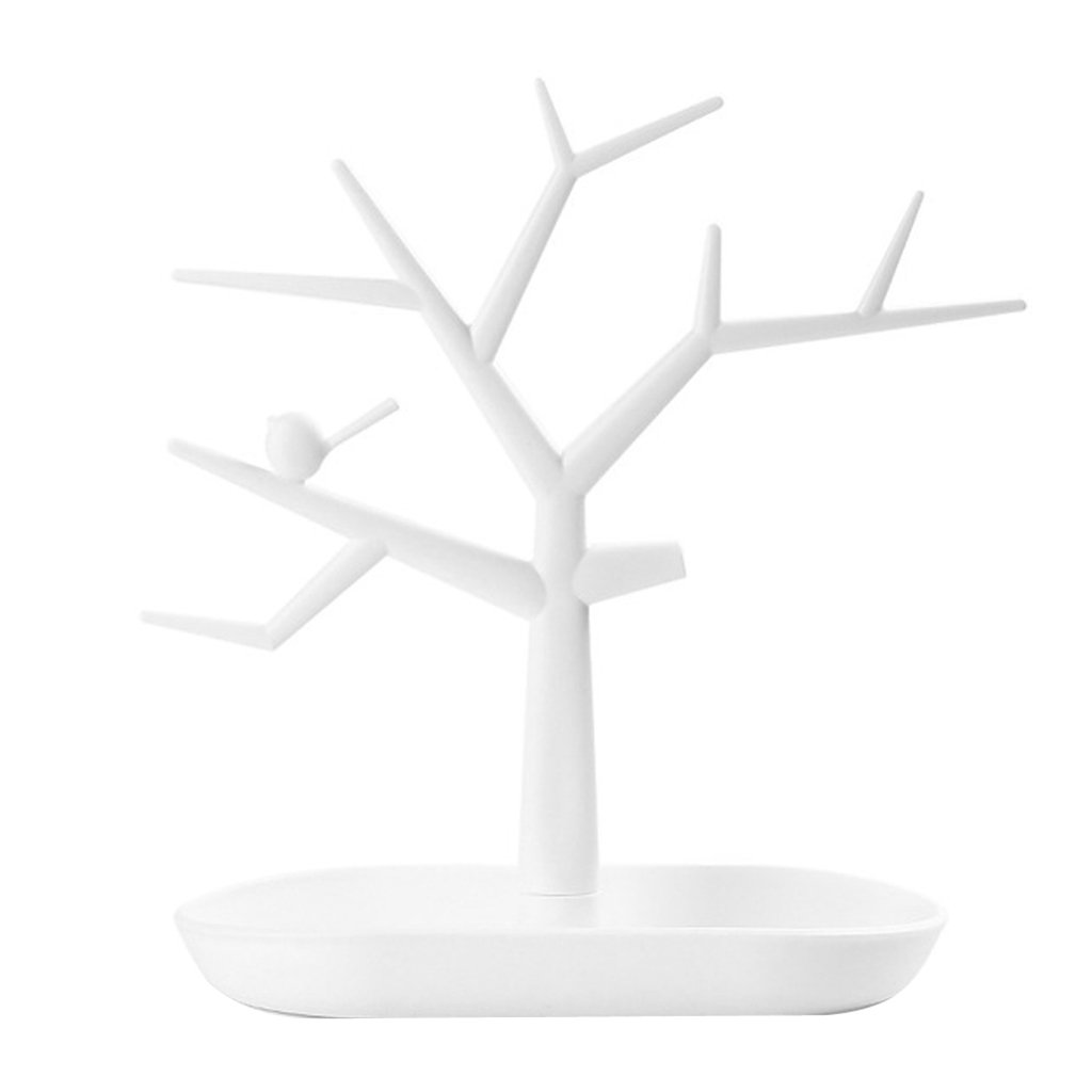 1pc Earrings Rings Jewelry Tree Stand Display Organizer Holder Show Rack Generic STK0156000872