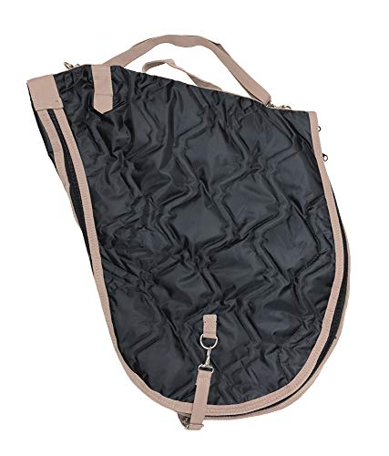 AJ Tack Wholesale English Horse Saddle Carrier Travel Case Bag All Purpose Saddle Quilted ()