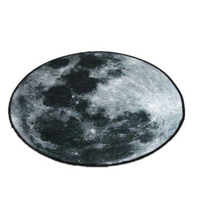 WXDD WXDD WXDD 3D Stereo mond Mond Tee Tabelle, Erde Matte Teppich, kreisförmigen Velours Teppich, Balkon Wohnzimmer Schlafzimmer Rutschfeste Pad, 150  150 cm, 4 Sterne B07CWD6MT7 Teppichunterleger 2e1a0d