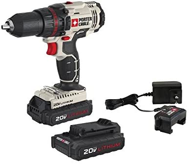 PORTER-CABLE PCC601LB 20V Max 1 2-Inch Lithium Ion Drill Driver