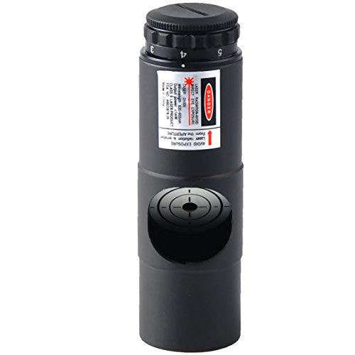 affordable Gosky 1.25'' Metal Laser Collimator for Reflector Telescope Collimation - Adjustable 7 Brightness Levels