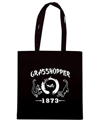 Nera 1873 TAM0042 HOODIE Borsa Shopper GRASSHOPPER 6n58vq