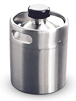Stainless Steel Keg Style Growler