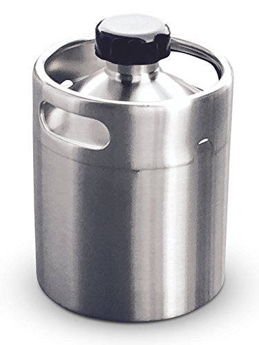 Stainless Steel Keg Style Growler product image