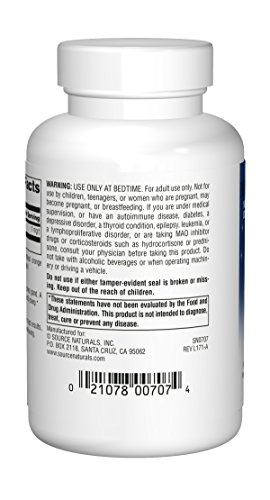 Source Naturals Melatonin 1mg, Orange, for Occasional Sleeplessness, 200 Sublingual Tablets by Source Naturals (Image #1)