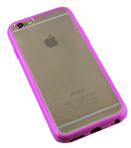 Monkey Cases® iPhone 6 - 4,7 Zoll - TPUCase for iPhone 6 - Transparent Matt - ROSA - Handyhülle - ORIGINAL - NEU/OVP - ROSA