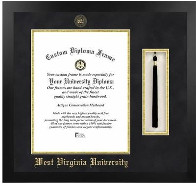 west virginia university tassel diploma frame - Wvu Diploma Frame