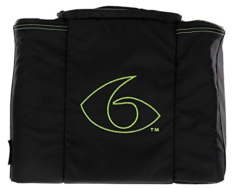 6 Pack Fitness Bag Innovator 500 Black/Neon Green (5 Meal) by 6 Pack Fitness (Image #5)