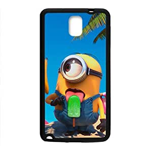 Cute naughty horarios de minions Cell Phone Case for Samsung Galaxy Note3