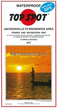 Top Spot Map N226 Jacksonvil Brunswk