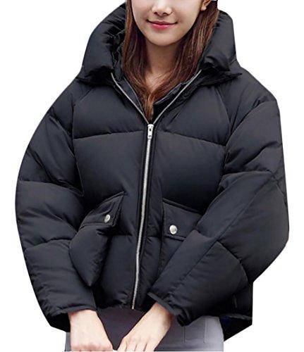 Delle Giacche 2 Con Inverno Cotone Breve Ispessiscono Tuta Cappotti Giù Sportiva Donne Cappuccio Generici 4WqOwv4r
