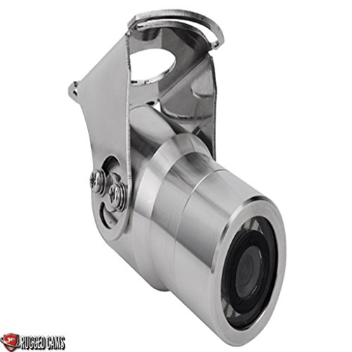 Stainless Steel Bullet IP68 rated camera with Stainless steel mount by Rugged Cams