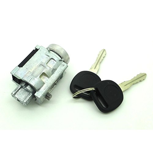Ignition Lock Cylinder Assembly with Keys & Passlock Chip for Chevy Classic Impala Malibu Monte Carlo & Olds Alero Cutlass Intrigue & Pontiac Grand Am Replace # 25832354 15822350 D1493F US286l 924-719