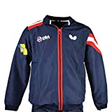 Butterfly USA Team Table Tennis Tracksuit 19 - Official Team USA Tracksuit, USATT - Training Warm up Suit – USA Proud - Track Jacket - Track Pants - Navy