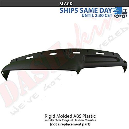 (DashSkin 1994-1997 Dodge Ram Molded Cap Cover Overlay (Black))