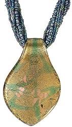 Large Leaf Peridot Necklace Precious Gemstone Pendant Fashion Jewelry
