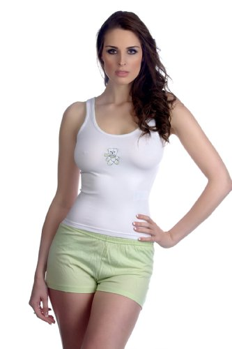 hering-womens-pajama-shorts-set-style-76fx-xl-green