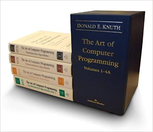 The Art of Computer Programming set