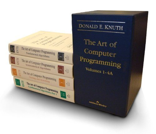 (The Art of Computer Programming, Volumes 1-4A Boxed Set)