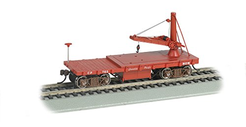 Bachmann Industries Old Time Maintenance of Way Derrick Canadian Pacific Freight Car