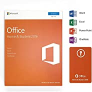 Office 2016 Home and Student - English - Lifetime License - 1 PC - Box - KeyCard - Word Excel PowerPoint OneNo